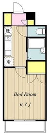 海老名駅 徒歩11分6階Fの間取り画像