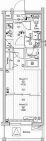 プレミアムキューブ武蔵新田3階Fの間取り画像
