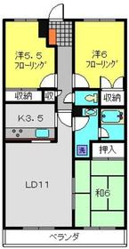 ファルコンウッズ3階Fの間取り画像