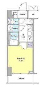 DORMOUSE和3階Fの間取り画像