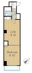 ライオンズマンション相模台第22階Fの間取り画像