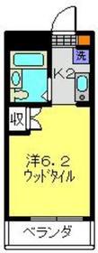 Espoir日吉2階Fの間取り画像