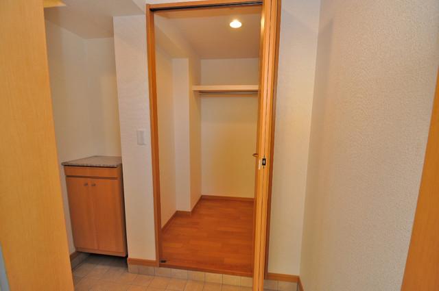 ベル フルール エヌ・エス もちろん収納スペースも確保。いたれりつくせりのお部屋です。
