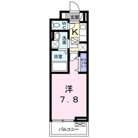 ブリーゼM1階Fの間取り画像