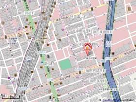小伝馬町駅 徒歩8分案内図