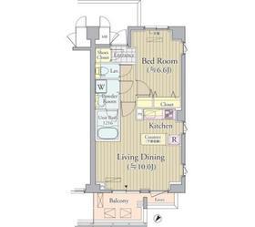 ACOLT新宿落合4階Fの間取り画像