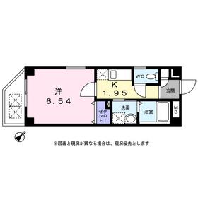 天王町駅 徒歩4分2階Fの間取り画像