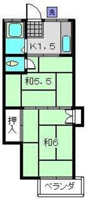 横浜駅 徒歩15分間取図