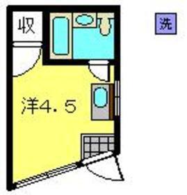 日吉駅 徒歩6分1階Fの間取り画像