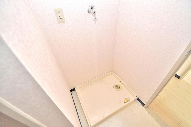 オルゴグラート長田 室内に洗濯機置き場があれば雨の日でも安心ですね。