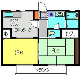 コートルミエールB1階Fの間取り画像