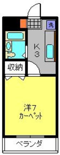 ヴィラロイヤル妙蓮寺間取図