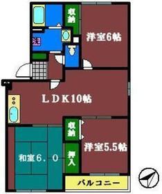サンモール・オガワ3階Fの間取り画像