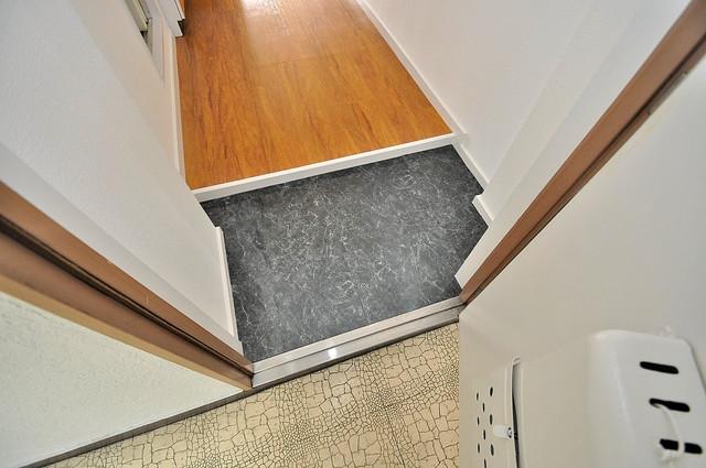 大宝菱屋西ロイヤルハイツ ズドーンと伸びる廊下ですっきりしています。