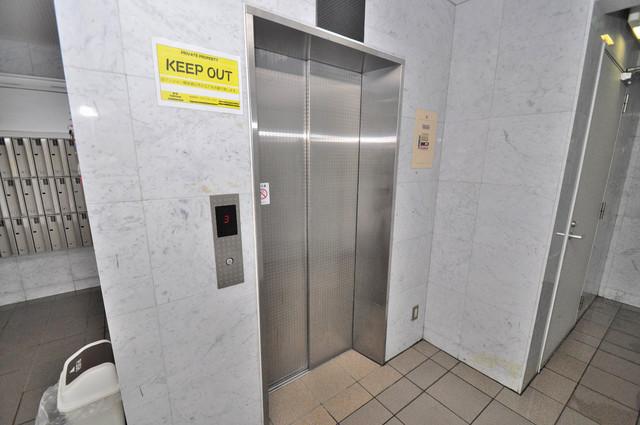 ノースフライト 嬉しい事にエレベーターがあります。重い荷物を持っていても安心