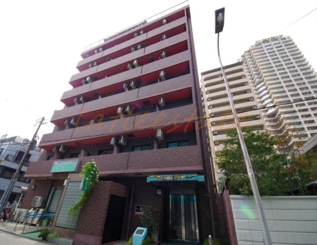 大阪市城東区中央2丁目の賃貸マンションの外観