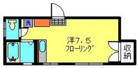 カーサ922階Fの間取り画像