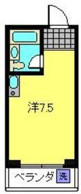 横浜駅 徒歩15分5階Fの間取り画像