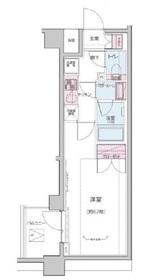飯田橋駅 徒歩9分2階Fの間取り画像