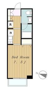 クオーレ3階Fの間取り画像