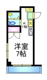 エステート上板橋3階Fの間取り画像