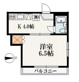 メゾンパウローニア2階Fの間取り画像