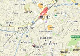 リブリ・ビラ二俣川案内図