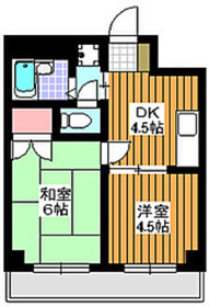 エーツーアイ2階Fの間取り画像