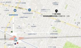 グランシャルム吉祥寺案内図