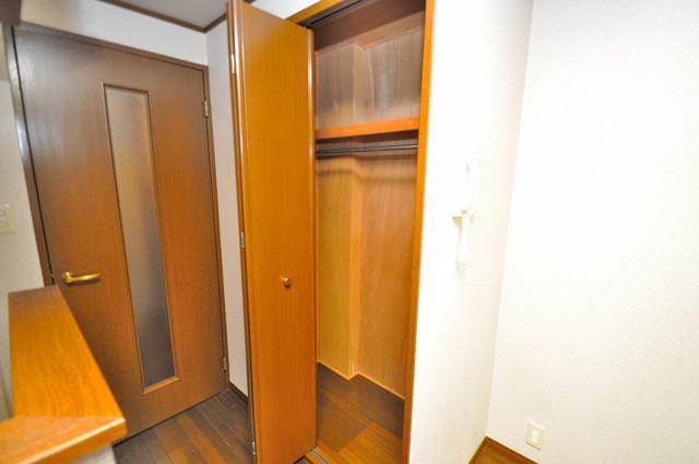 CTビュー永和 もちろん収納スペースも確保。お部屋がスッキリ片付きますね。
