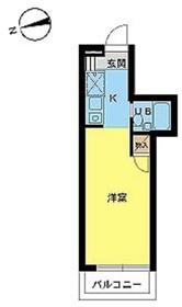 スカイコートたまプラーザ4階Fの間取り画像