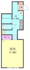 エクリュ多摩川 101号室