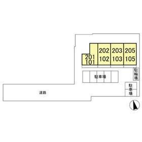フォレスタ221階Fの間取り画像