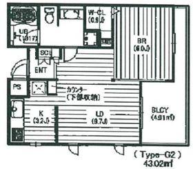 ピアッツァデルキーナ3階Fの間取り画像