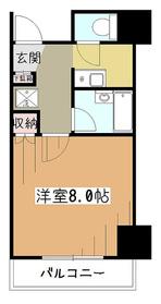サンヴェール高木3階Fの間取り画像