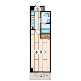 VicoLo横濱反町5階Fの間取り画像