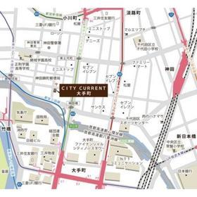 CITY CURRENT大手町案内図