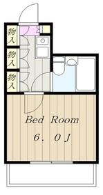 JUN平山城5階Fの間取り画像
