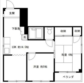 西横浜駅 徒歩14分4階Fの間取り画像