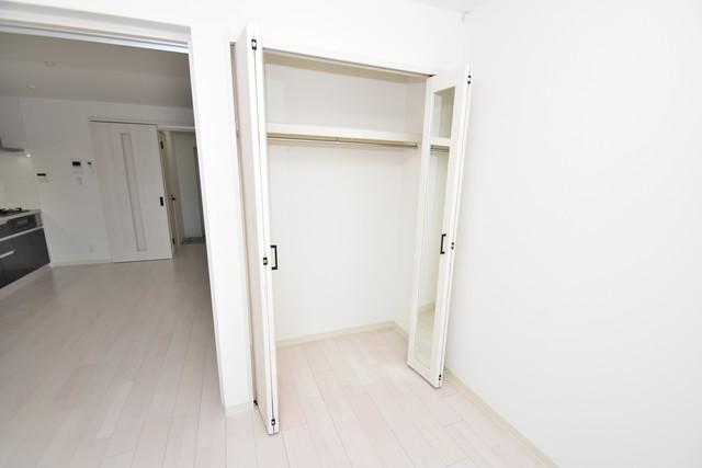 クリエオーレ高井田西 もちろん収納スペースも確保。いたれりつくせりのお部屋です。