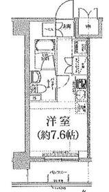 クラリッサ横浜アレッタ4階Fの間取り画像