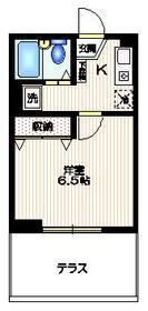 シュロス新井1階Fの間取り画像