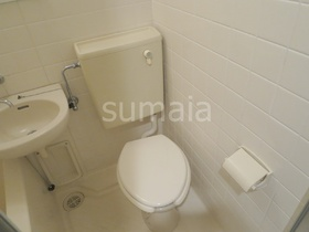 清潔感あるトイレです♪
