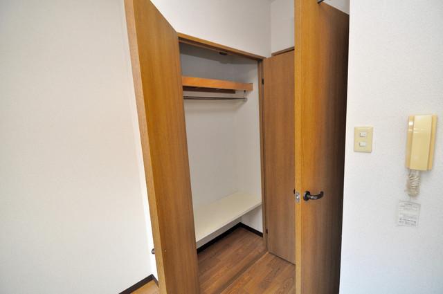 グランメール永和 もちろん収納スペースも確保。お部屋がスッキリ片付きますね。