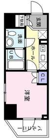 アウルイセザキ8階Fの間取り画像