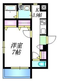 KISARAGI1階Fの間取り画像