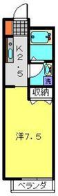 マルト十番館1階Fの間取り画像