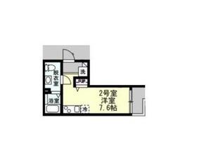 YAMATO1階Fの間取り画像