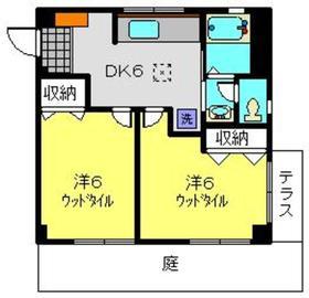 タイヨービル1階Fの間取り画像