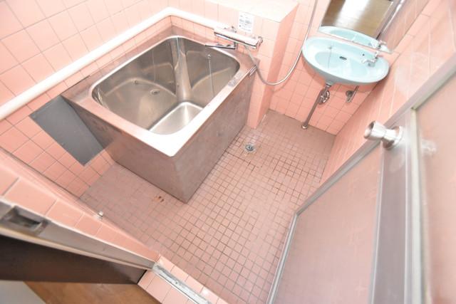 セイワパレス寺山公園 コンパクトだけどシンプルライフに十分のお風呂。